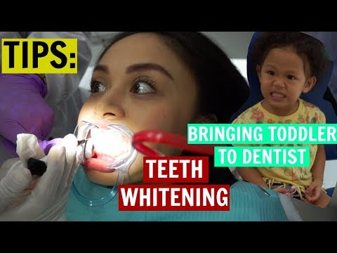 FAMILY AFFAIR: DENTIST + Tips for Teeth Whitening and Bringing Toddler! (Philippines)
