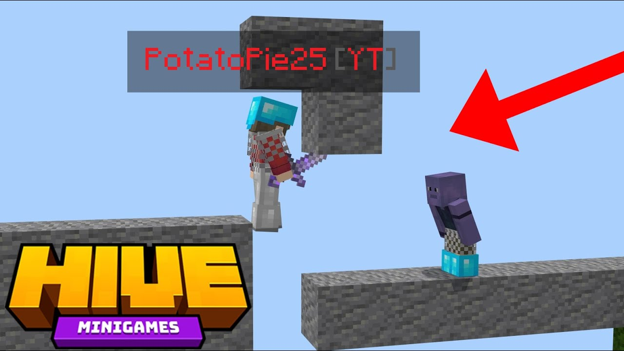 Trapping Hive Youtubers 4 (Hive Skywars)