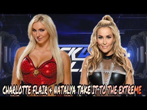 WWE 2K17 Charlotte Flair & Natalya TAKE IT TO THE EXTREME