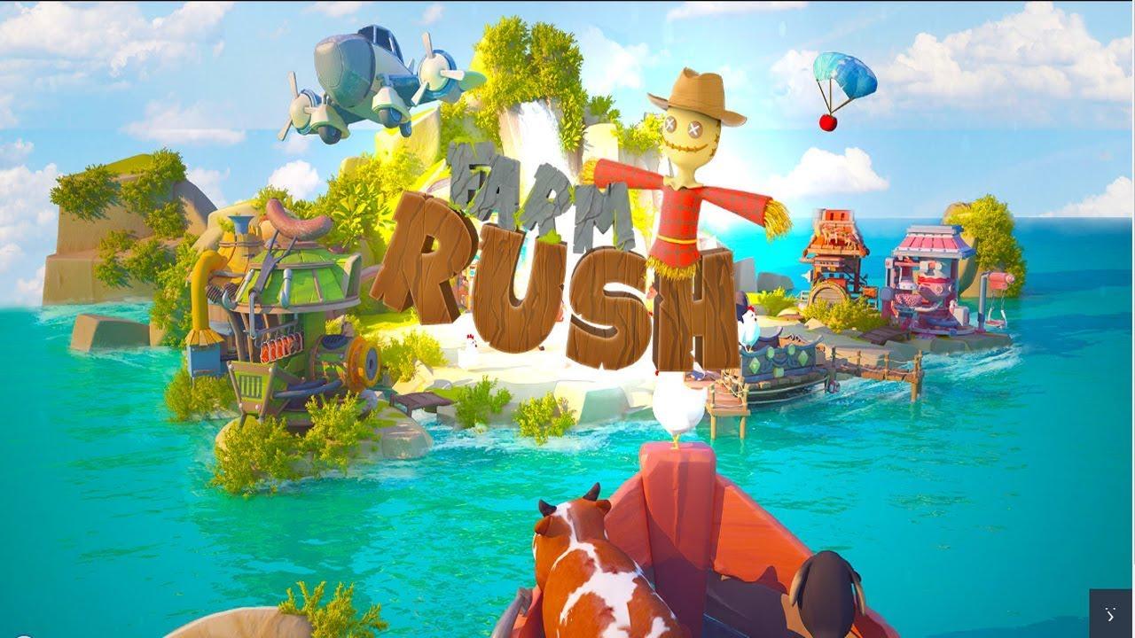 Farm Rush Android Gameplay u1d34u1d30