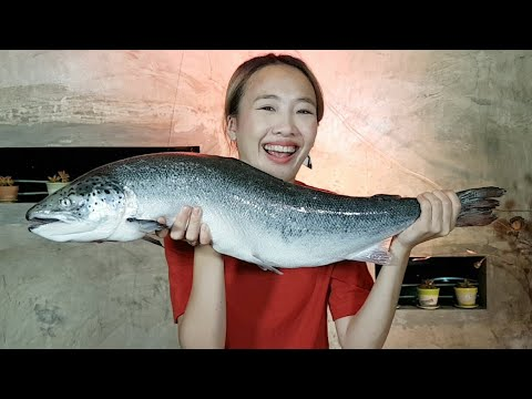 สด!! หัดแล่ปลาแซลม่อนครั้งแรกกับเชฟมืออาชีพ!!