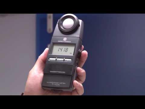 T-10A illuminance meter