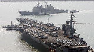 Estados Unidos Empieza junto a Corea del Sur Pruebas Militares en el Mar Chino