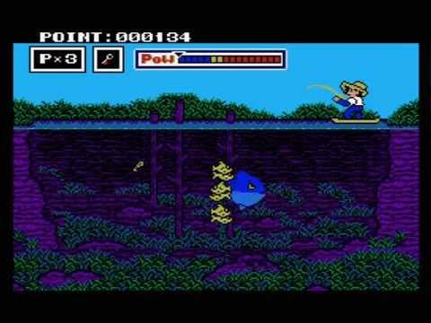 Tsurikichi Sanpei Turisennin-Hen - Fishing Freak - MSX2 - Crossmedia Soft