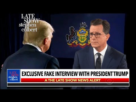 Stephen's Interview Of Hannity's Interview Of Trump