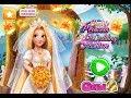 NEW Мультфильм для девочек—Принцесса выходит замуж!—Игры для детей Blonde Princess Wedding Fashion