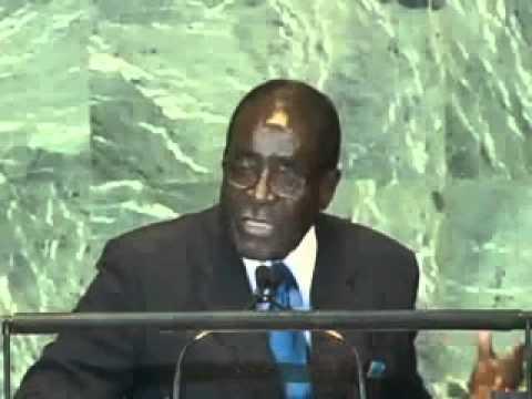 Excellent Speech by President ROBERT MUGABE at the UN G.A. (Libya.)