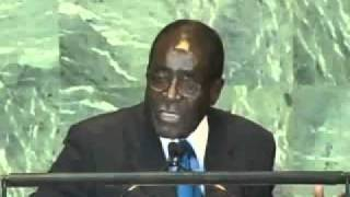 Excellent Speech by President ROBERT MUGABE at the UN G.A. (Libya.)