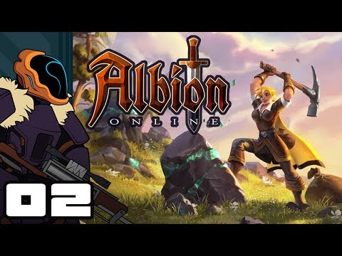 Let's Play Albion Online – PC Gameplay Part 2 – Gearing Up!