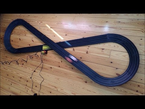 Testing Tyco Banked Curve No B 5847 track