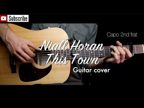 This Town Niall Horan Guitar Cover Guitar Lessontutorial