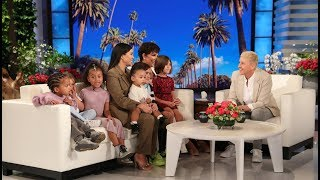 Kris Jenner had the ultimate Mother's Day surprise as Ellen brought out Kourtney Kardashian, her kids Mason, Penelope, and Reign, and Kim's children, North, ...