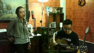 Littlest Things [ Lily Allen ] Acoustic Cover by Hanh Dan feat La Thang