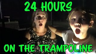 24 Hours Overnight On A Trampoline With Villains Slappy Edition