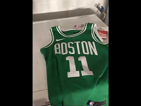 hot sale online 6980a e3fb3 How to wash Nike NBA Connect Jersey 2018!! Boston Celtics Icon Swingman  Jersey