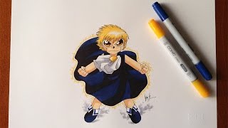 Disegno - Drawing Gash Bell ( Zatch Bell )