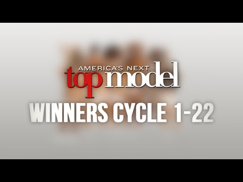 All ANTM Winner Fadeouts Cycle 1-22