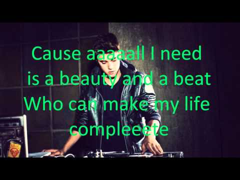 Justin Bieber - Beauty And A Beat (feat. Nicki Minaj) (with Lyrics)