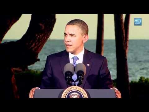 Obama: Hawaii in Asia