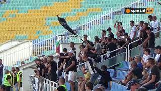 """""""Бялата"""" радост след гола от дузпа на Галин Иванов"""