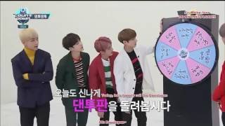 BTS play games and dancing