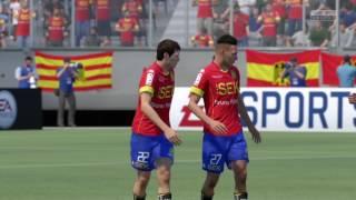FIFA17 Celebración Chile