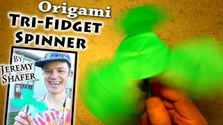 Origami Triple Fidget Spinner