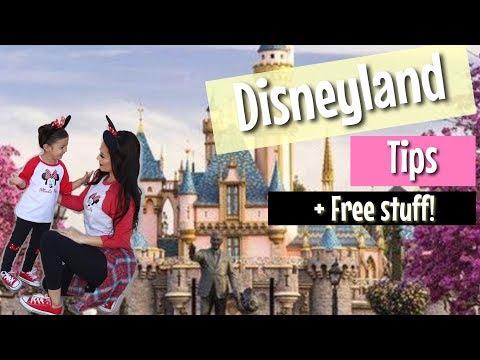 DISNEYLAND tips Hacks l Free stuff at Disneyland thumbnail