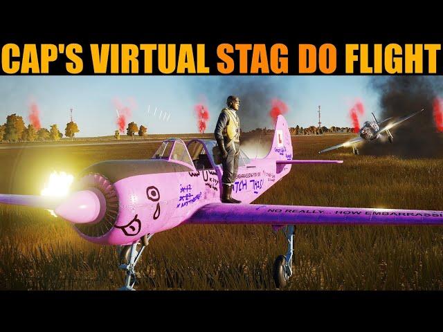 Cap's Farewell Stag Do Flight   DCS WORLD