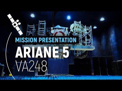 Arianespace Flight VA248  T-16 presentation