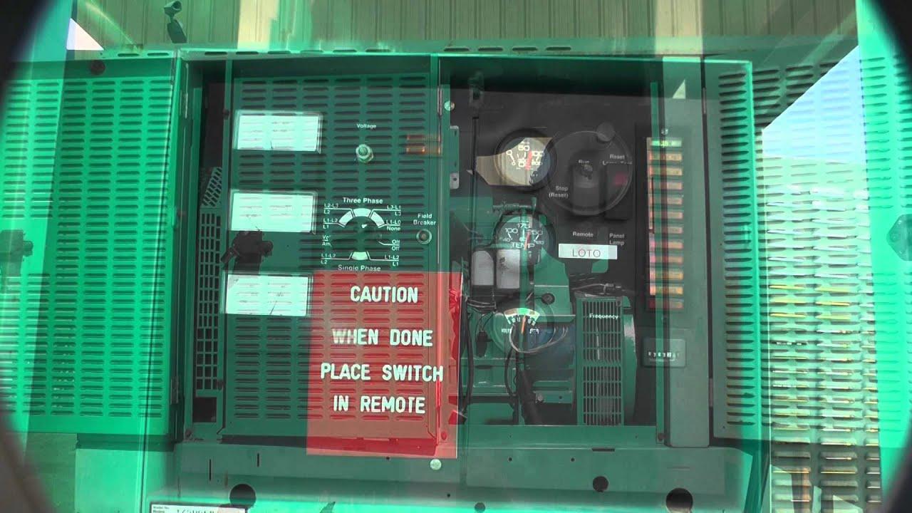 Cummins 175 kW Diesel Generator Used Standby 6CTA8 3G Unit