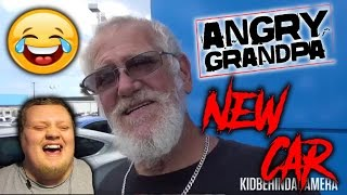ANGRY GRANDPA'S NEW CAR! (PRANK) REACTION!!!