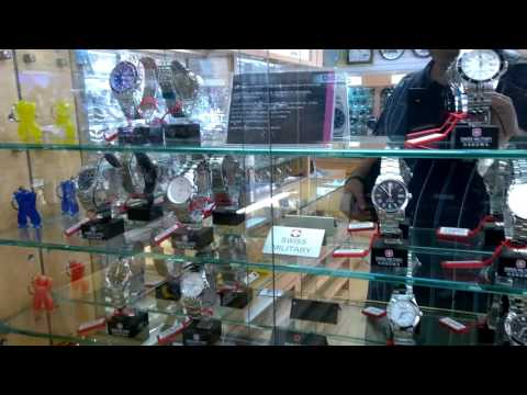 OKINAWA, JAPAN - Wrist Watch Store in Okinawa City