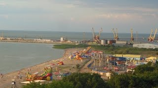 видео Ейск: Отдых на Азовском море. Пляжи. Достопримечательности