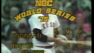 1975 World Series Game 2 - Reds at Red Sox