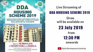 DDA Housing Scheme 2019 Lottery video, DDA Housing Scheme