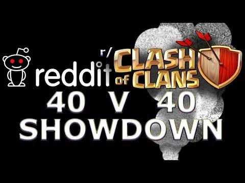 Reddit Community 40 V 40 WAR! 5000 Gem Giveaway! - Clash of Clans