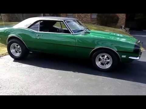 RALLY GREEN 1968 CAMARO BBC 4 SPEED