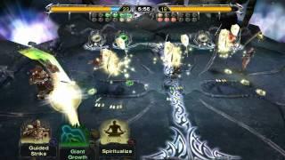 Defeating Mirrora - Magic the Gathering Battlegrounds