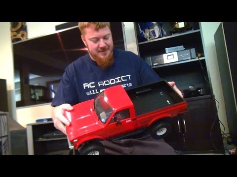 RC ADVENTURES - RC4WD Trail Finder 2 4x4 Truck RTR (Unboxing)