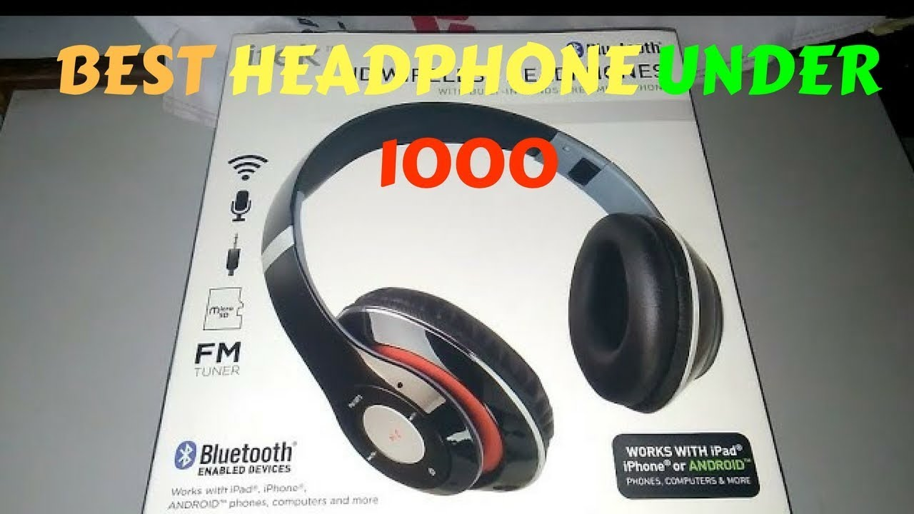 1d1b771c805 Itek Bluetooth Headphone Unboxing and Review || Best Headphone Under 1000.