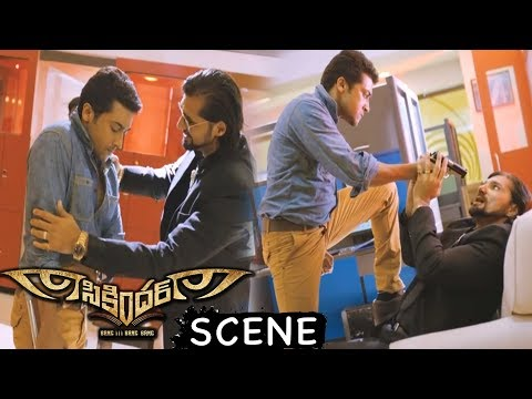 Surya Finshes Chetan Hansraj - Action Scene - Latest Telugu Movie Scenes
