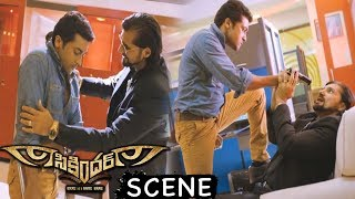 Surya Finishes Chetan Hansraj - Action Scene - Latest Telugu Movie Scenes