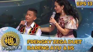 Frengky Zega Duet Bareng Ayu Ting Ting & Iis Dahlia [TERAJANA] - Kontes KDI Eps 13 (14/10)
