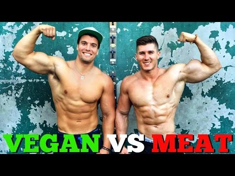 VEGAN Vs MEAT BASED BODYBUILDING
