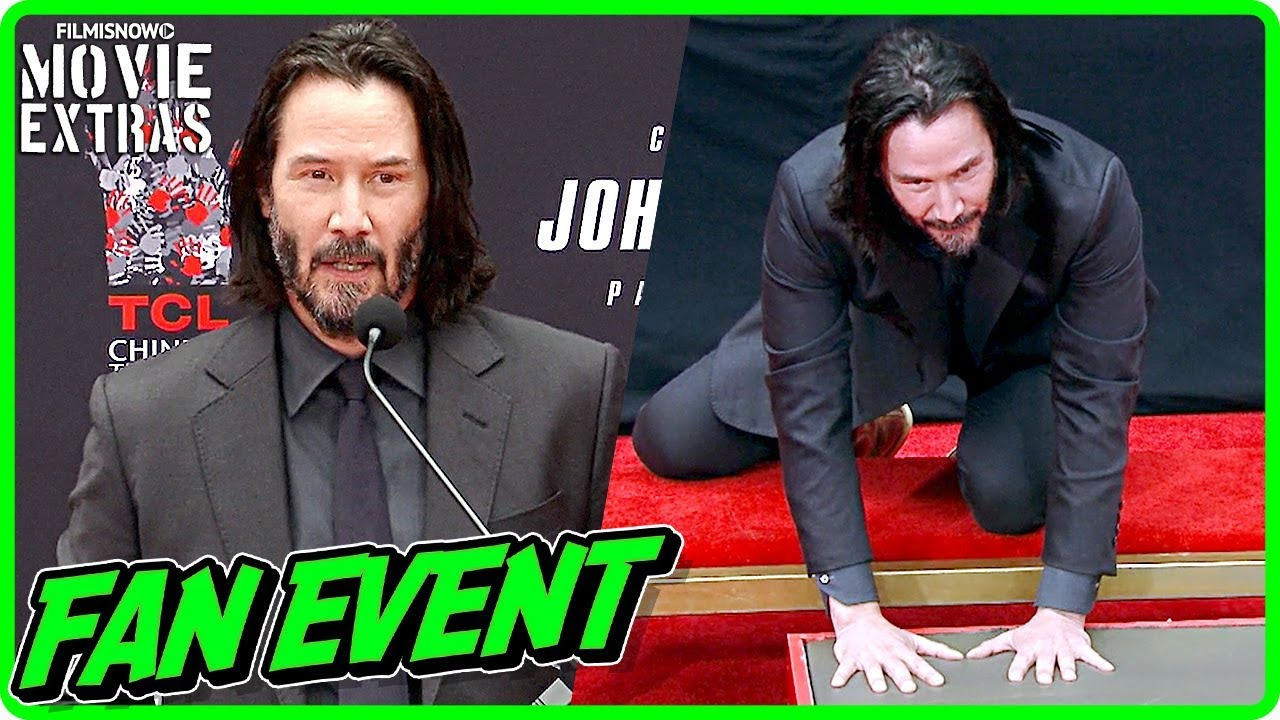 JOHN WICK 3: PARABELLUM | Handprint Ceremony at TCL Chinese Theatre
