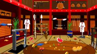 Уборка в комнате - игра для девочек