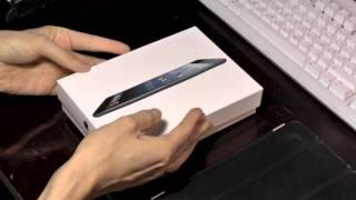 iPad-Mini Unboxing (16 GB, Schwarz, WiFi only)
