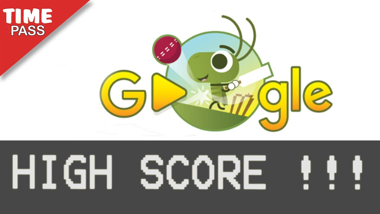 Google Icc Cricket Game Doodle High Score And Tips
