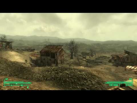 Fallout 3: Barter Book Location - Settlement North of Jalbert Brothers Waste Disposal